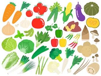ワキガに野菜!