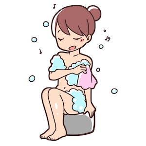 ワキガ対策としてワキを入念に洗う