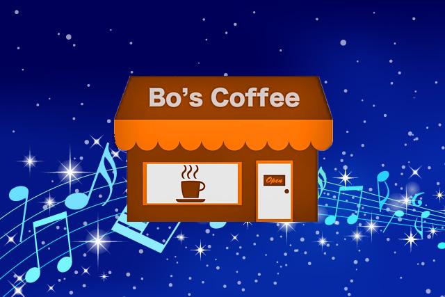 Bo's coffee プレイリスト folk city音楽