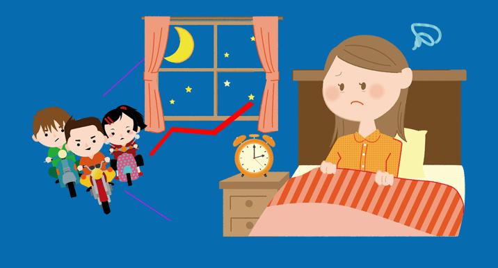 睡眠の質を高めるために騒音を排除する