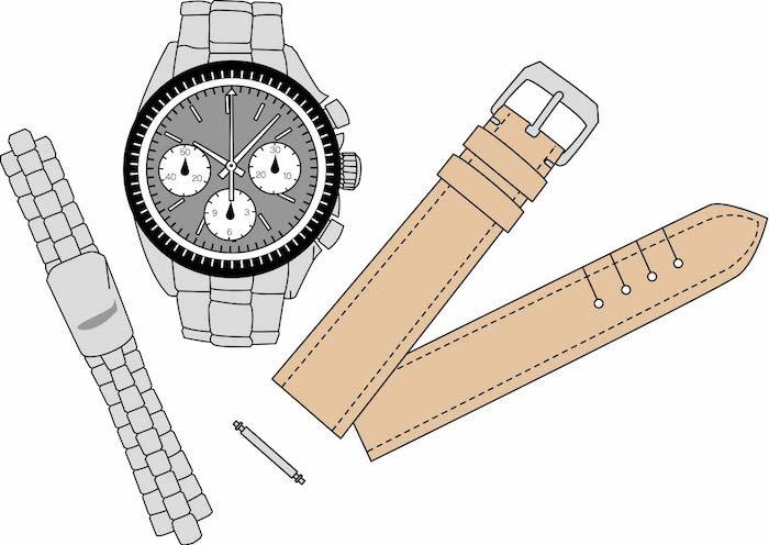 時計を修理してもらう