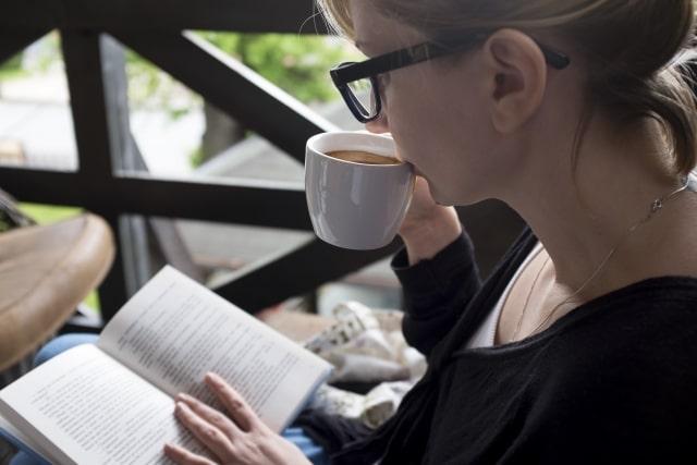 車の中で読書