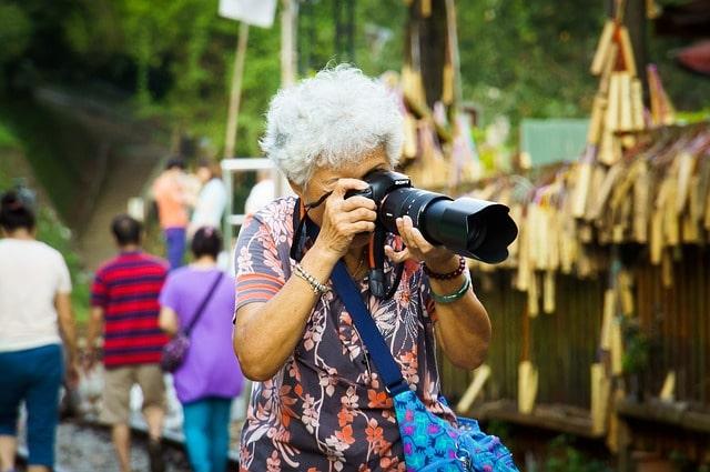 老後の趣味はカメラ!
