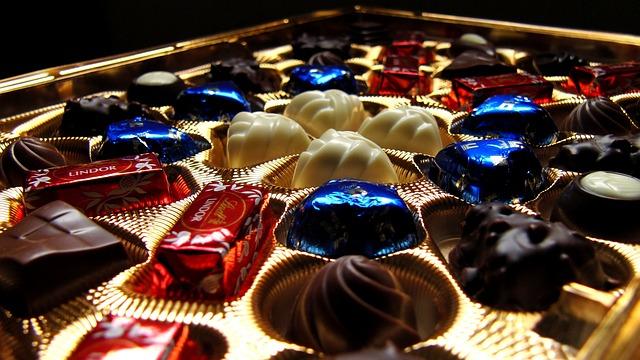 リンツのチョコレート!